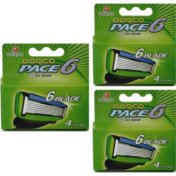 Dorco Pace6 rakblad 12st