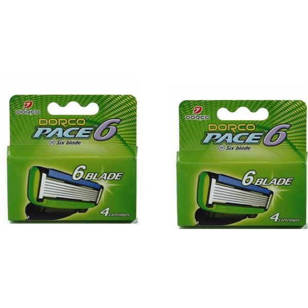 Dorco Pace6 rakblad 8-pack