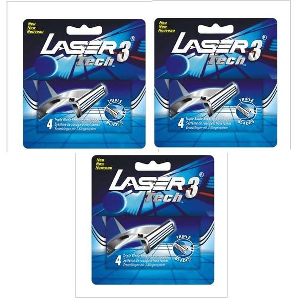 Laser Tech3 Rakblad 12st