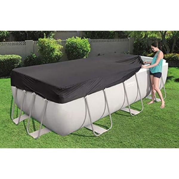 Poolskydd för Bestway rektangulära 56441 och 56722 PVC 396 cm x 185 cm