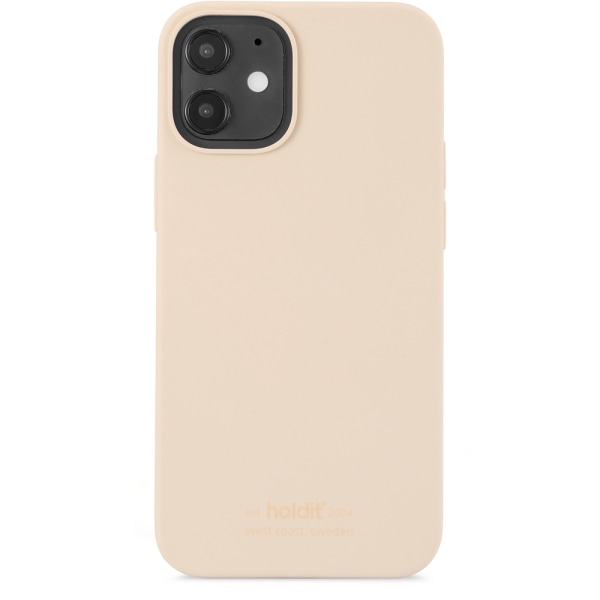 Holdit Mobilskal iPhone 12 Mini Silikon Beige