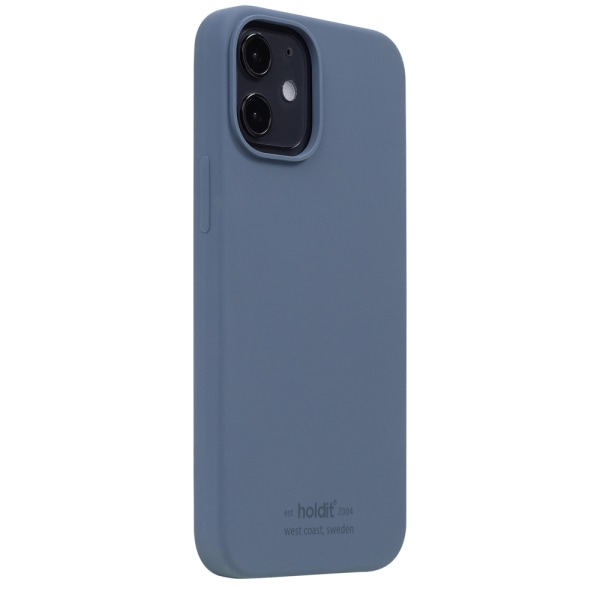 Holdit Silicone Case iPhone 12 Mini Pacific Blue