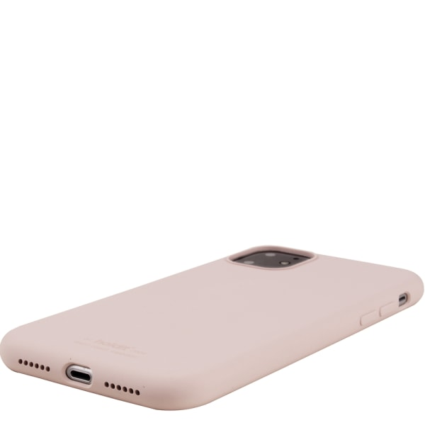 Holdit Silikon skal iPhone 11 Blush Pink