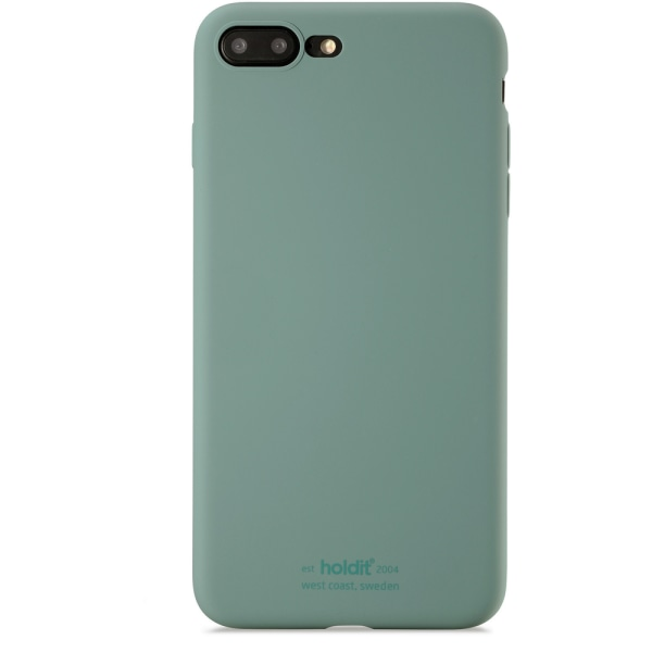 Holdit Silikon Skal iPhone 8Plus & iPhone 7Plus Moss Green