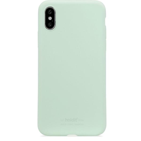 Holdit Silikon skal iPhone X/XS Mint