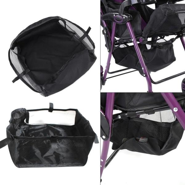1Pc Baby Stroller Pram Bottom Basket Pushchair Buggy Shoppin