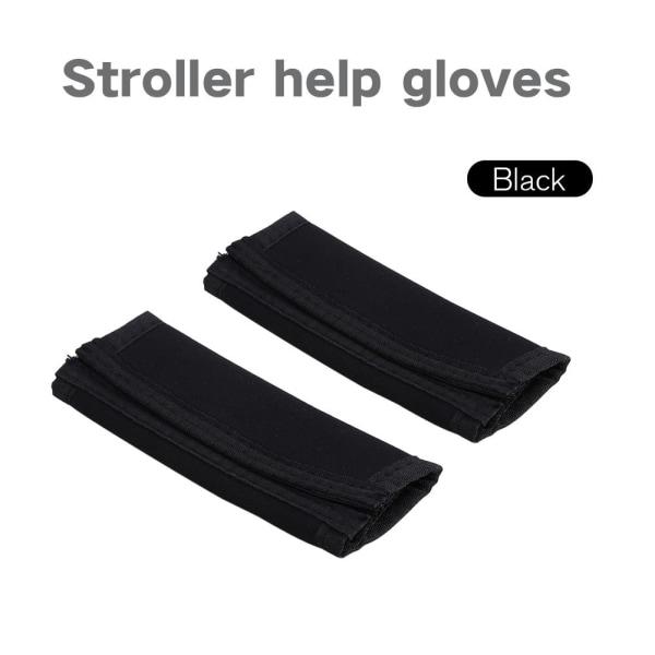 2PCS Black Baby Kid Handle Grip Bar Bumper Cover for Pushcha
