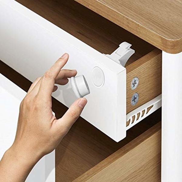 Closet Lock - Invisible Security Baby Magnetic Closet Drawer