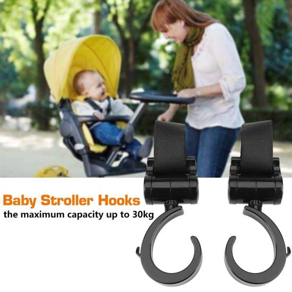 Joyren 360° Rotation Baby Infant Stroller Pushchair Hook ABS