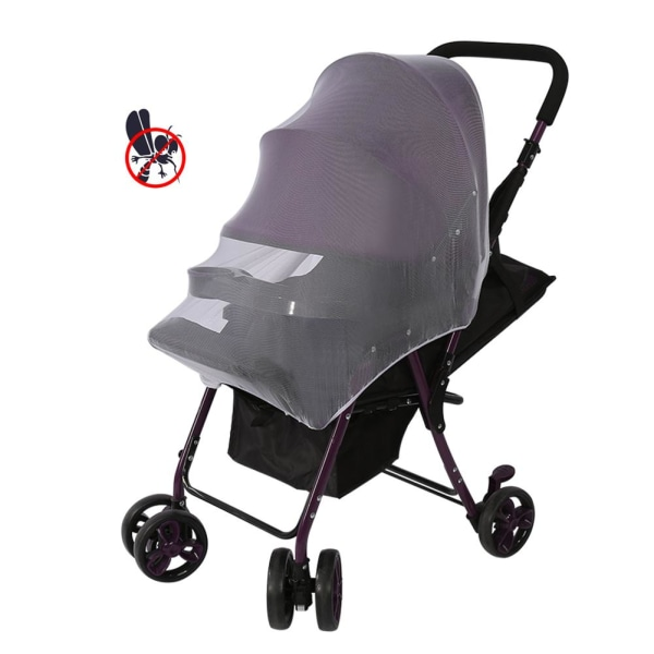 Lovely Baby Stroller Pushchair Mosquito Insect Net Safe Mesh
