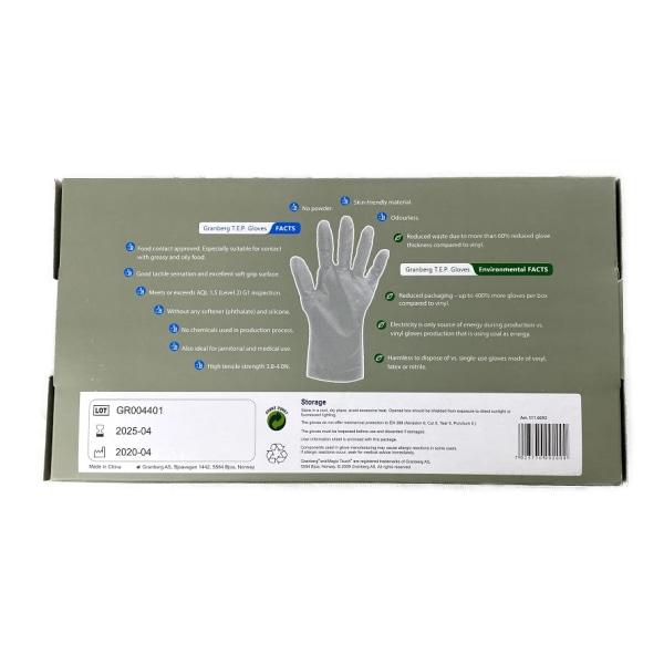 Handskar Granberg TEP storlek XL - 200st