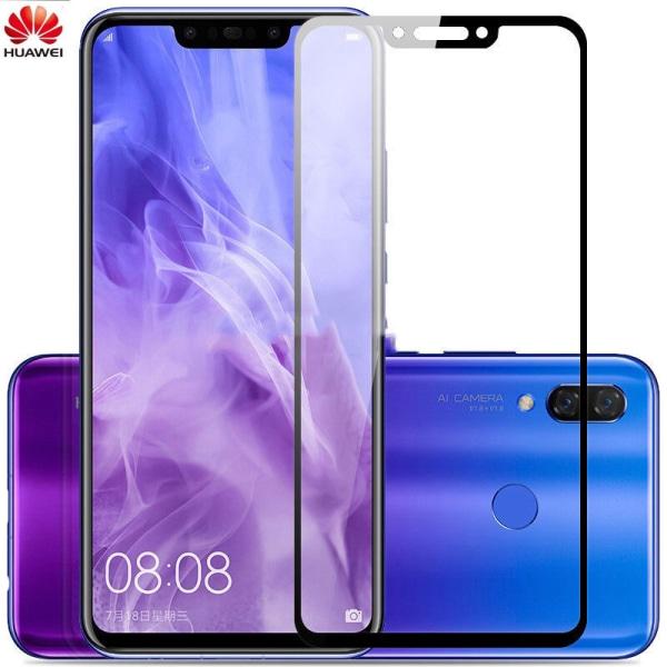 Heltäckande härdat glas / skyddsglas till Huawei mate 20 lite