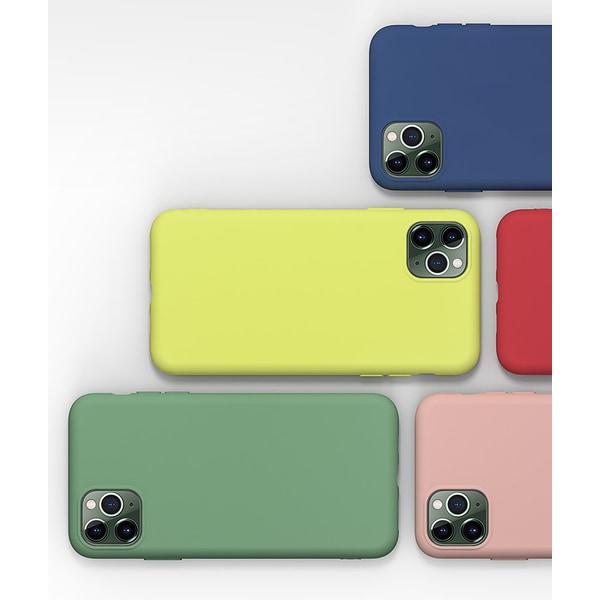 iPhone 11 Pro Max silikon mikrofiber skal svart