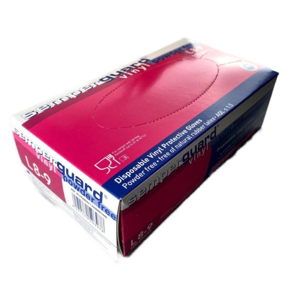 Vinylhandskar puderfria Semperguard 100st - large
