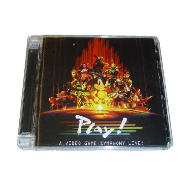 Play A Video Game Symphony Musik CD + DVD