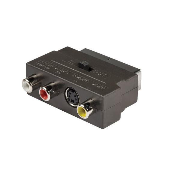 Scartadapter Scart Adapter A/V + S-video