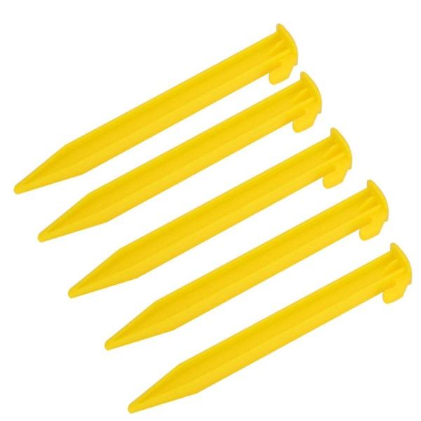 5PCS Lightweight Nylon Peg Ground Nails Screw Nail Stakes fo
