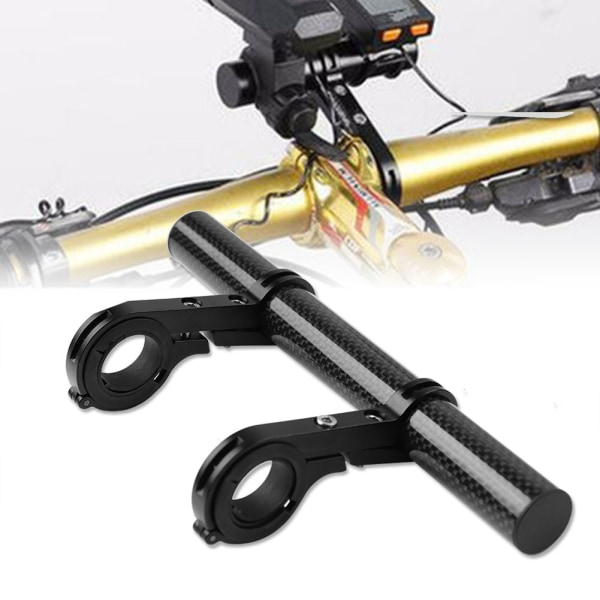 Bicycle Extension Frame Handlebars Accessories Bike Lamp Pho 20cm
