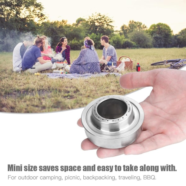 Outdoor Camping Picnic Stainless Steel Portable Mini Alcohol