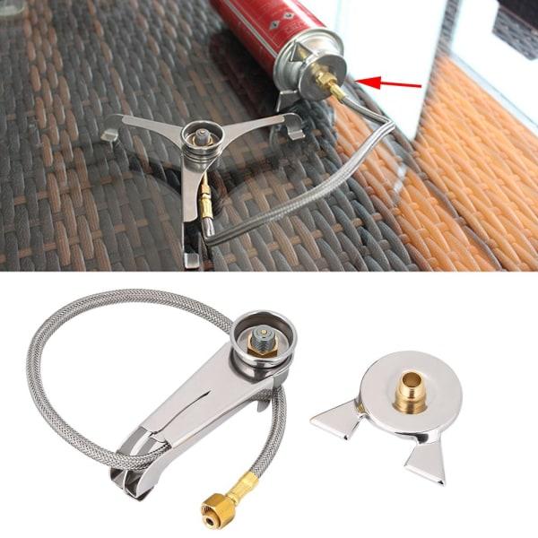Outdoor Mini Stove Burner Converter Long Cylinder Tank Gas A