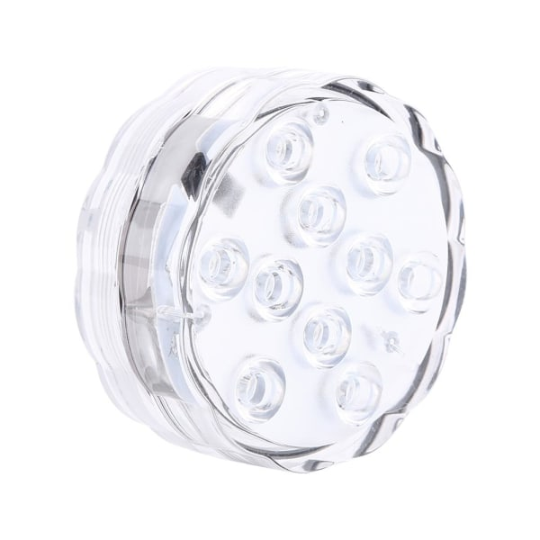 Submersible 10 LED Multicolor Waterproof Light RGB for Vase