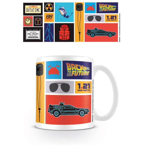 Back to the Future - Collection - Mugg MultiColor