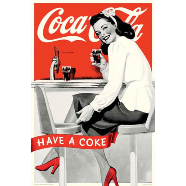Coca Cola - Girl Have A Coke