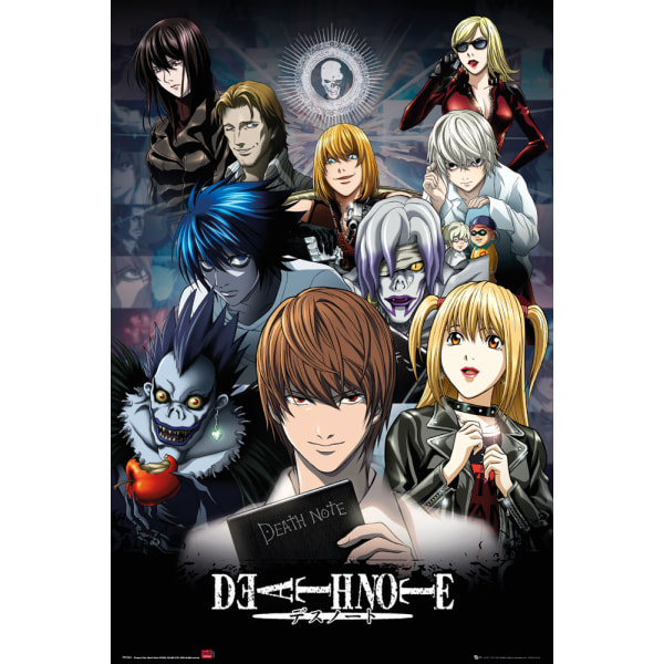 Death Note - Collage multifärg