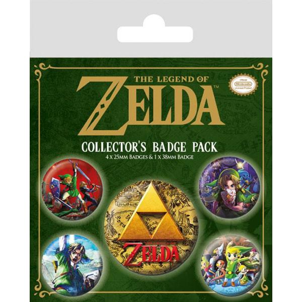 Knappsats - Badge Pack - The Legend Of Zelda (Classics) MultiColor