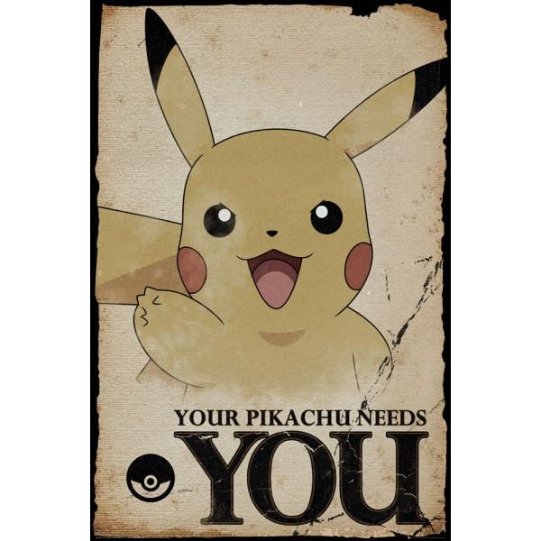 Pokemon - Pikachu Needs You MultiColor