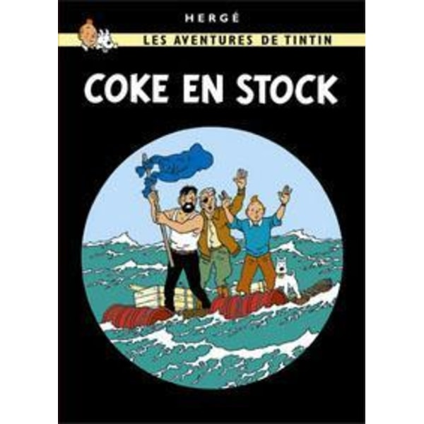 Poster - Tintin Coke en stock - Koks i lasten multifärg