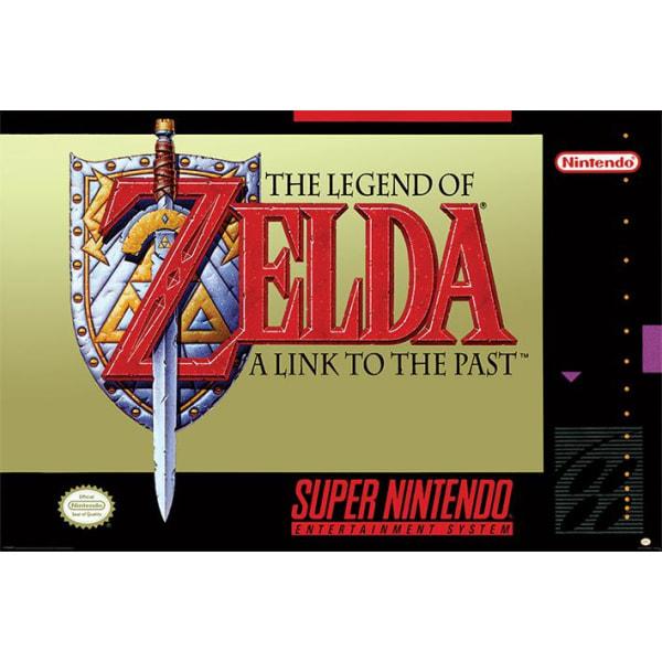 Super Nintendo - Zelda multifärg