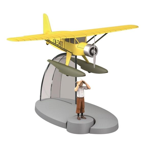 Tintin - Sjöflygplan (Krabban med guldklorna) multifärg