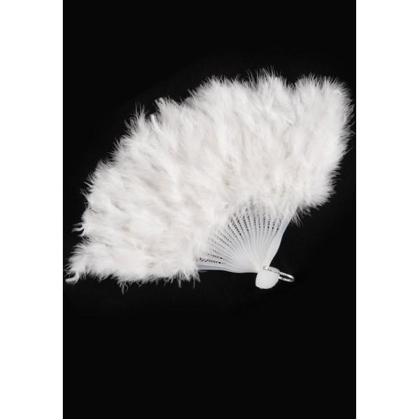 White Feathers Fan multifärg