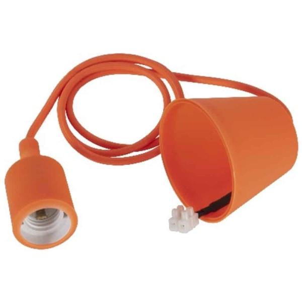 Color sladdställ med takkopp och plugg orange