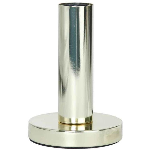 GLANS lampfot mässing 17 cm i metall