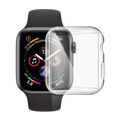 Heltäckande Skal Apple Watch 1/2/3 Skärmskydd 38mm Transparent Transparent