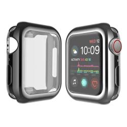Heltäckande Skal Apple Watch 1/2/3 Skärmskydd 42mm  SVART Svart