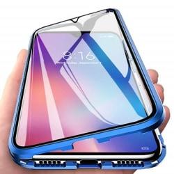 Samsung S20 plus Magnetiskt 360° skydd Härdat glas BLÅ