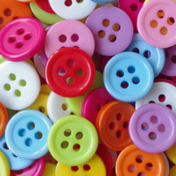 100 knappar - 11 mm