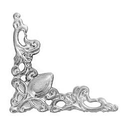 20 metallhörn - silver