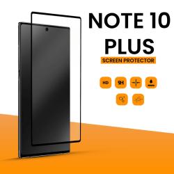 Skärmskydd Samsung Galaxy Note 10 Plus, härdat glas hög kvalitet