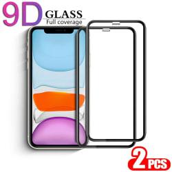 2-Pack Iphone 11 Pro Max - 9D Härdat Glass - Top Kvalitet