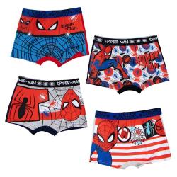 2-pack Boxerkalsonger Spider-Man MultiColor 4/5 år Röd/Grå med spindel