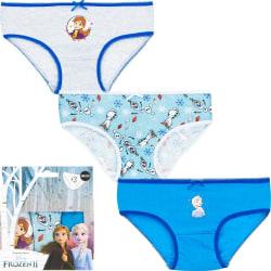 3 par trosor  Frozen II Blue 92/98