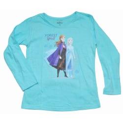 Frost/Frozen II tröja Ljusblå LightBlue 128