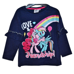 My little pony Långärmad tröja DarkBlue 3år (98cm)