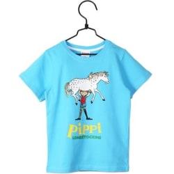 Pippi Långstrump T-shirt Blå, Martinex Blue 98