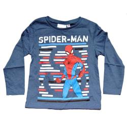 Spider-Man Långärmad T-shirt Blue 4 år (104cm)