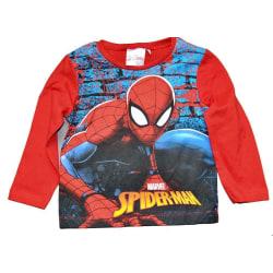 Spider-Man Långärmad T-shirt Red 128